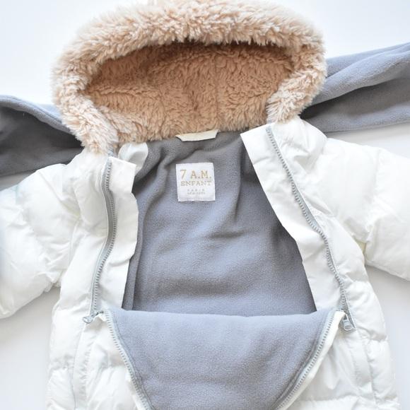 Baby snowsuit / bunting bag